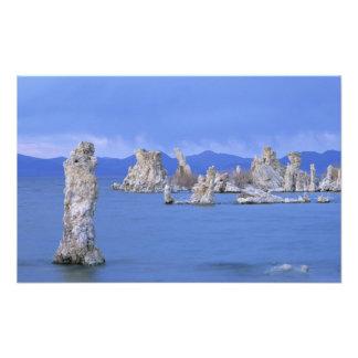 Los E.E.U.U., California, mono lago Arte Fotográfico