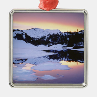 Los E.E.U.U., California, montañas de Sierra Nevad Ornamento De Navidad