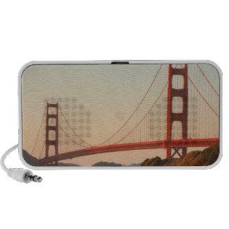 Los E.E.U.U., California. Opinión de puente Golden Altavoces De Viajar