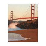 Los E.E.U.U., California. Opinión de puente Golden Lona Estirada Galerías