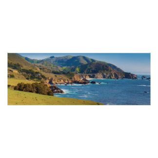Los E.E.U.U., California. Panorama de Sur grande Póster