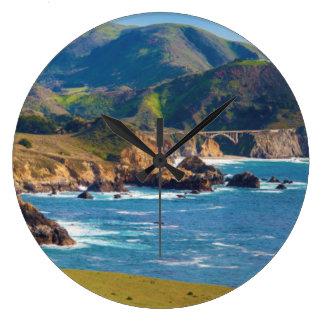 Los E.E.U.U., California. Panorama de Sur grande Reloj Redondo Grande