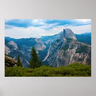 Los E.E.U.U., California, parque nacional 1 de Póster