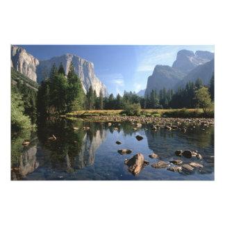 Los E.E.U.U., California, parque nacional de Yosem Cojinete