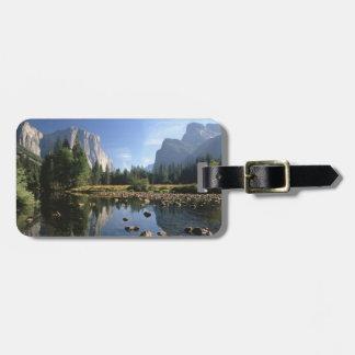 Los E.E.U.U., California, parque nacional de Yosem Etiqueta De Maleta