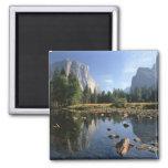 Los E.E.U.U., California, parque nacional de Yosem Imán Cuadrado