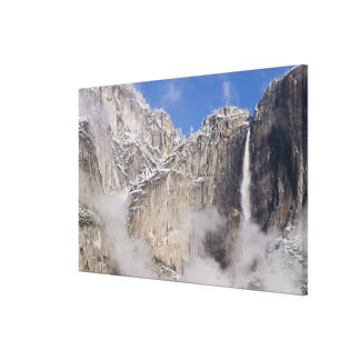 Los E.E.U.U., California, parque nacional de Yosem Impresión En Lienzo Estirada