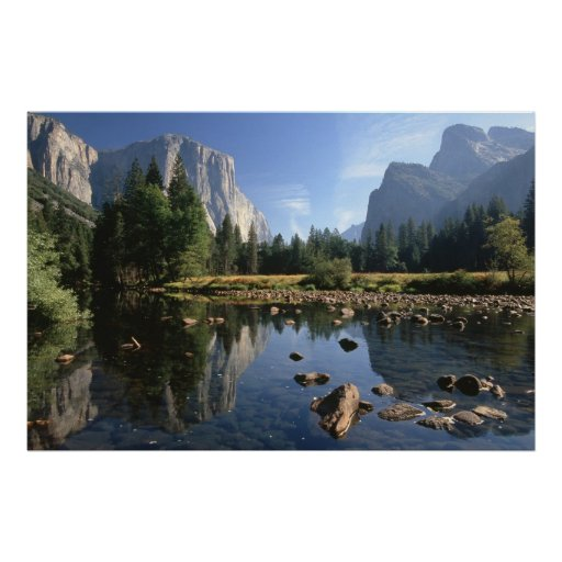 Los E.E.U.U., California, parque nacional de Yosem Poster