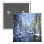 Los E.E.U.U., California, parque nacional de Yosem Pin Cuadrada 5 Cm