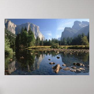 Los E.E.U.U., California, parque nacional de Yosem Póster