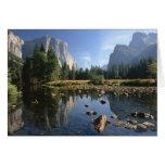 Los E.E.U.U., California, parque nacional de Yosem Felicitacion