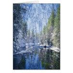 Los E.E.U.U., California, parque nacional de Yosem Tarjeta De Felicitación