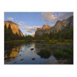 Los E.E.U.U., California, parque nacional de Yosem Postal