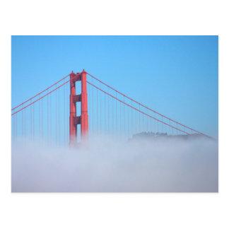 Los E.E.U.U., California. Puente Golden Gate por Tarjetas Postales