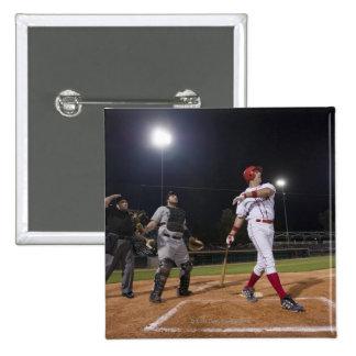 Los E.E.U.U., California, San Bernardino, béisbol Pin Cuadrada 5 Cm