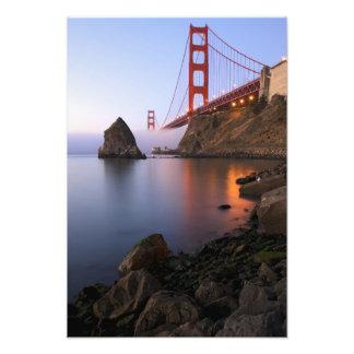 Los E.E.U.U., California, San Francisco. Golden Ga Cojinete