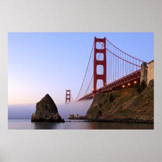 Los E.E.U.U., California, San Francisco. Golden Ga Póster