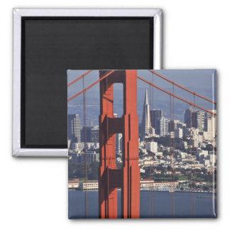 Los E.E.U.U., California, San Francisco. Vista aér Imán Cuadrado