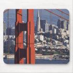 Los E.E.U.U., California, San Francisco. Vista aér Mouse Pads