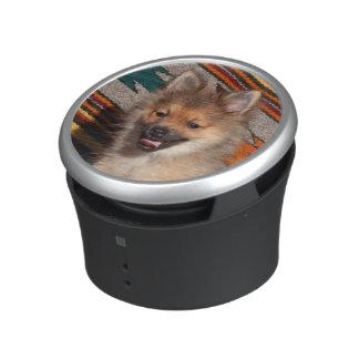 Los E.E.U.U., California. Sentada de Pomeranian Altavoz Bluetooth