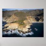 LOS E.E.U.U. California. Sur grande. Puente de Bix Posters