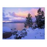 Los E.E.U.U., California. Un día de invierno en el Tarjetas Postales