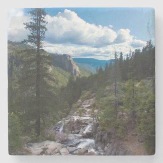 Los E.E.U.U., California. Valle Vista de Yosemite Posavasos De Piedra