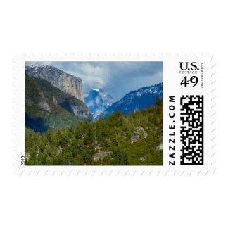 Los E.E.U.U., California. Vista de la media bóveda Sellos Postales