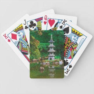 Los E.E.U.U., California. Vista de una charca Baraja Cartas De Poker