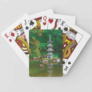 Los E.E.U.U., California. Vista de una charca Cartas De Póquer