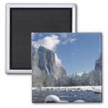 Los E.E.U.U., California, Yosemite NP. El río de M Iman Para Frigorífico