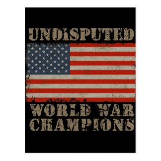 Los E.E.U.U., campeones indiscutibles de la guerra Tarjeta Postal