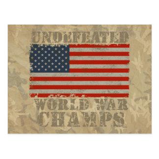 Los E.E.U.U., campeones invictos de la guerra Tarjetas Postales