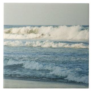 Los E.E.U.U., Carolina del Norte, Outer Banks, dia Azulejo Cuadrado Grande