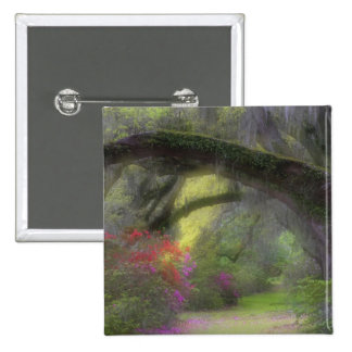 Los E.E.U.U., Carolina del Sur, jardines de la mag Pin Cuadrada 5 Cm