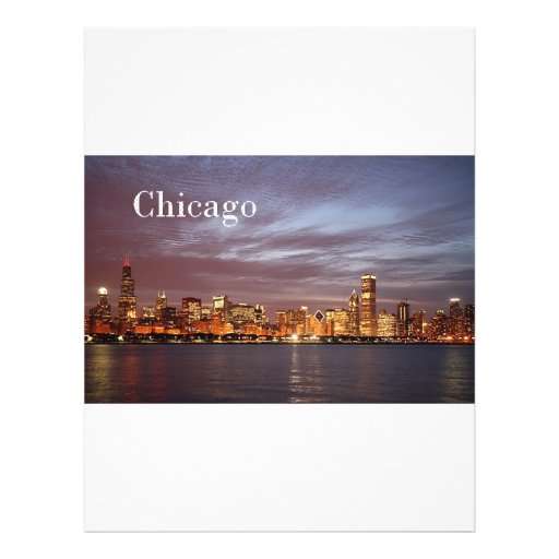 Los E.E.U.U. Chicago St.K) Tarjeta Publicitaria