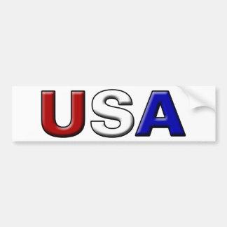 Los E.E.U.U. cincelados Pegatina Para Auto