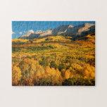 Los E.E.U.U., Colorado, bosque del Estado de Puzzles