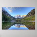 Los E.E.U.U., Colorado, Campanas-Snowmass marrón Posters