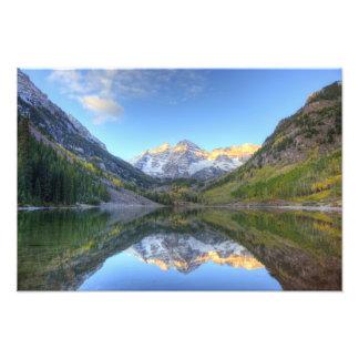 Los E E U U Colorado Campanas-Snowmass marrón Arte Fotográfico