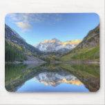 Los E.E.U.U., Colorado, Campanas-Snowmass marrón Alfombrillas De Raton
