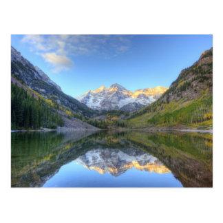 Los E.E.U.U., Colorado, Campanas-Snowmass marrón Postal
