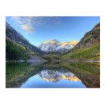 Los E.E.U.U., Colorado, Campanas-Snowmass marrón Tarjetas Postales