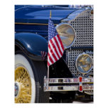 Los E.E.U.U., Colorado, Frisco. Auto de Packard de Poster