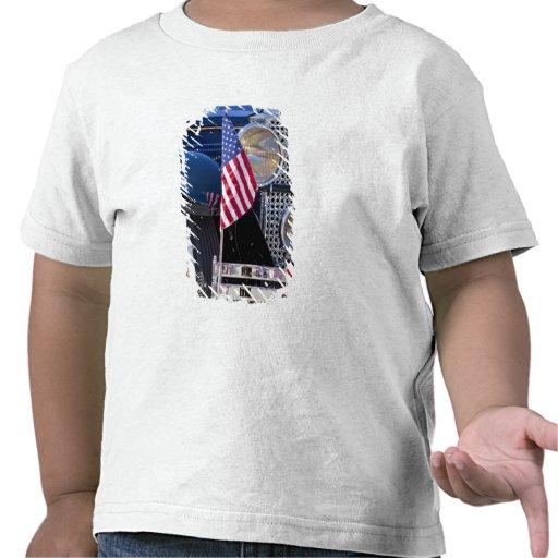 Los E.E.U.U., Colorado, Frisco. Auto de Packard de Camisetas