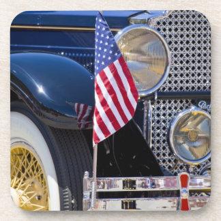 Los E.E.U.U., Colorado, Frisco. Auto de Packard de Posavasos