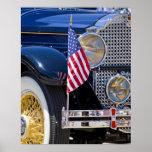 Los E.E.U.U., Colorado, Frisco. Auto de Packard de Póster
