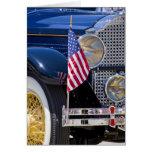Los E.E.U.U., Colorado, Frisco. Auto de Packard de Tarjeta De Felicitación