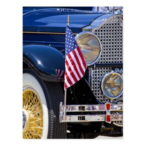 Los E.E.U.U., Colorado, Frisco. Auto de Packard Postales