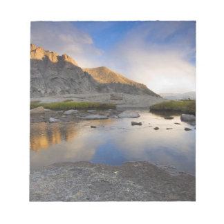 Los E.E.U.U., Colorado, montaña rocosa NP Blocs De Notas